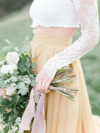 Vibrant And Summery Hillside Bridal Session27