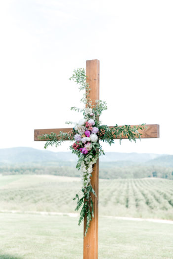 Wedding Ceremony Cross