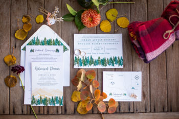 Wedding Invitations With Trees