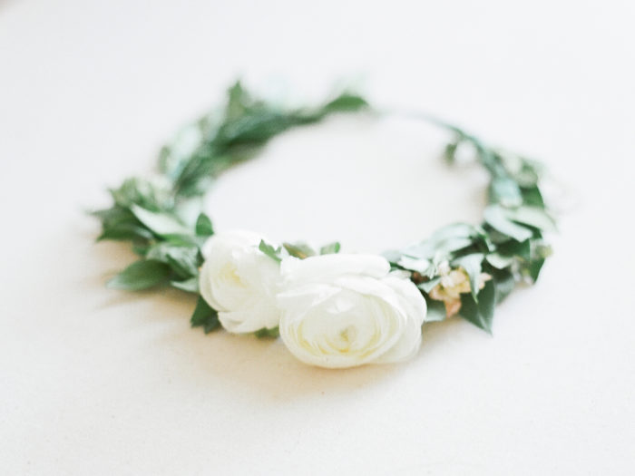 White Floral Crowns