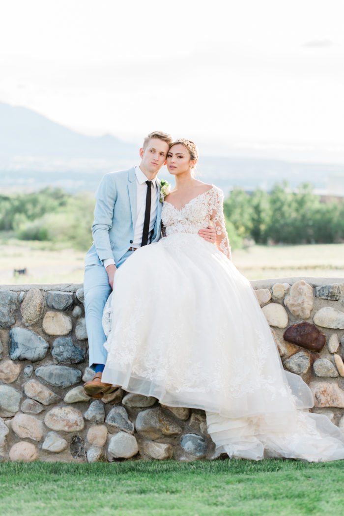 Southern Charm Wedding Inspiration In The Utah Mountains Moose Studio24