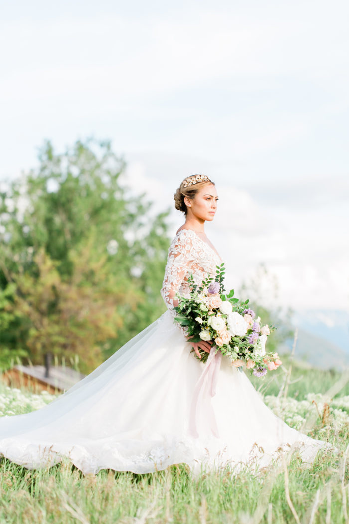 Southern Charm Wedding Inspiration In The Utah Mountains Moose Studio26